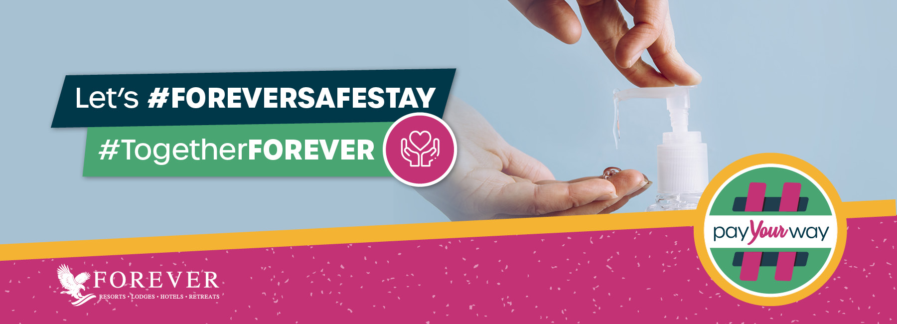 #ForeverSafeStay: Enhancing your experience by redefining cleanliness and supporting wellbeing throughout your stay with us.