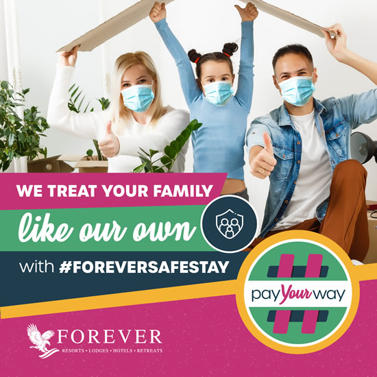 #ForeverSafeStay: We treat your family like our own