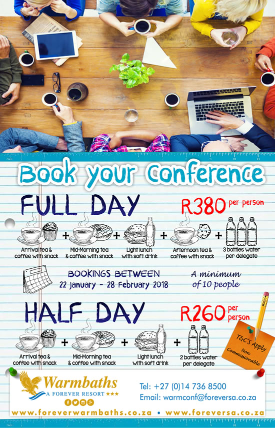 Book Your Half Day / Full Day Conference