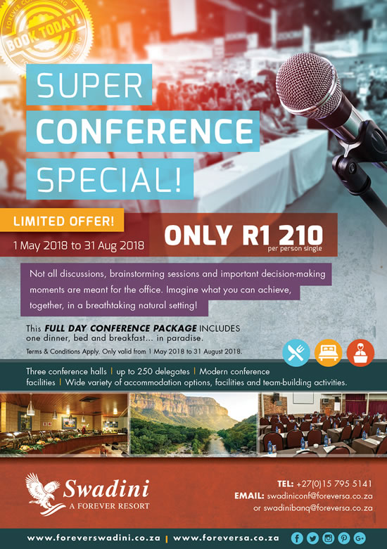 Super Conference Special - Limited Time Offer!