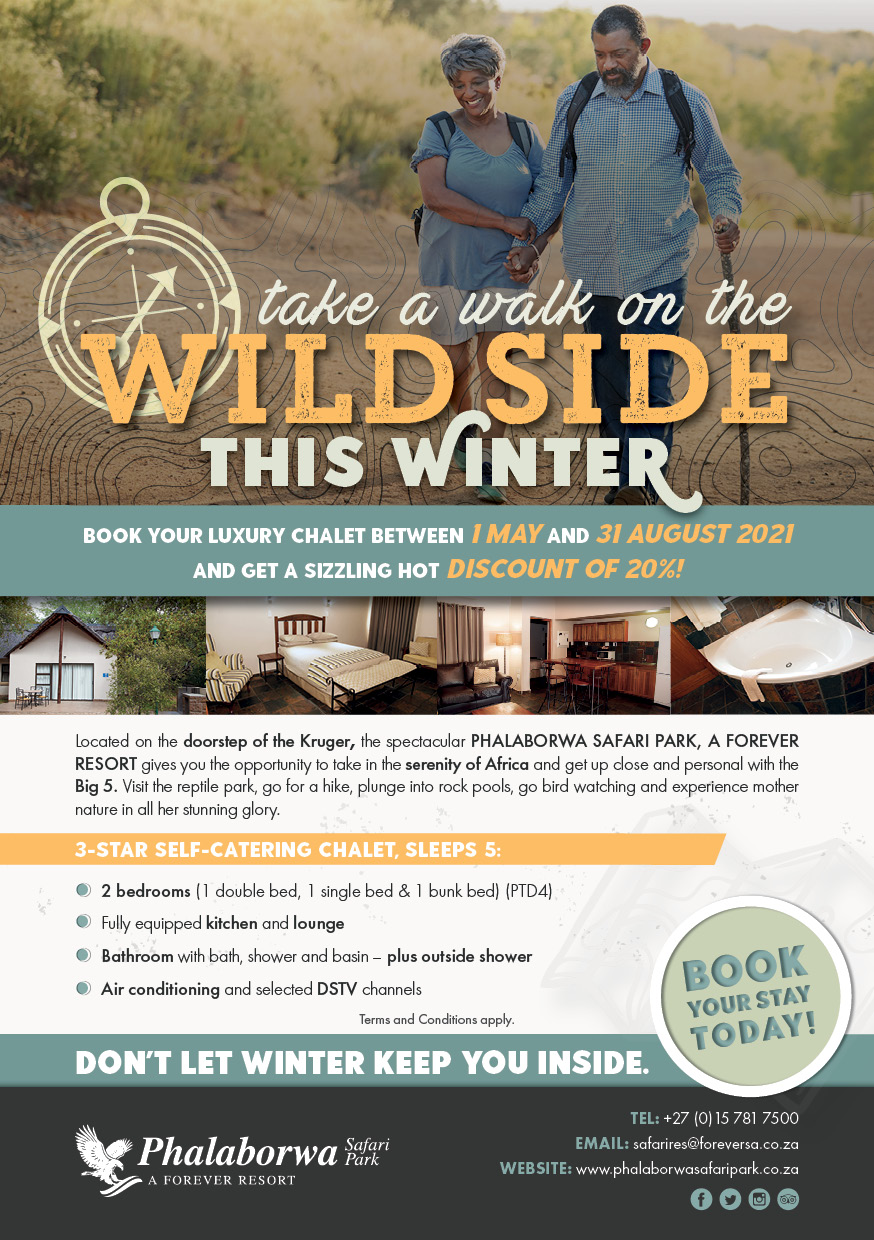 Take a Walk On The WILD SIDE This Winter