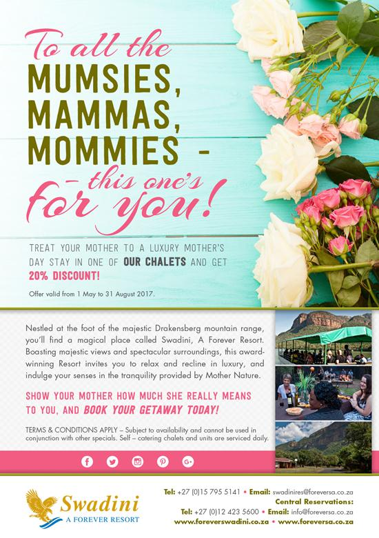 To All The MUMSIES, MAMMAS, MOMMIES - This One's For You!