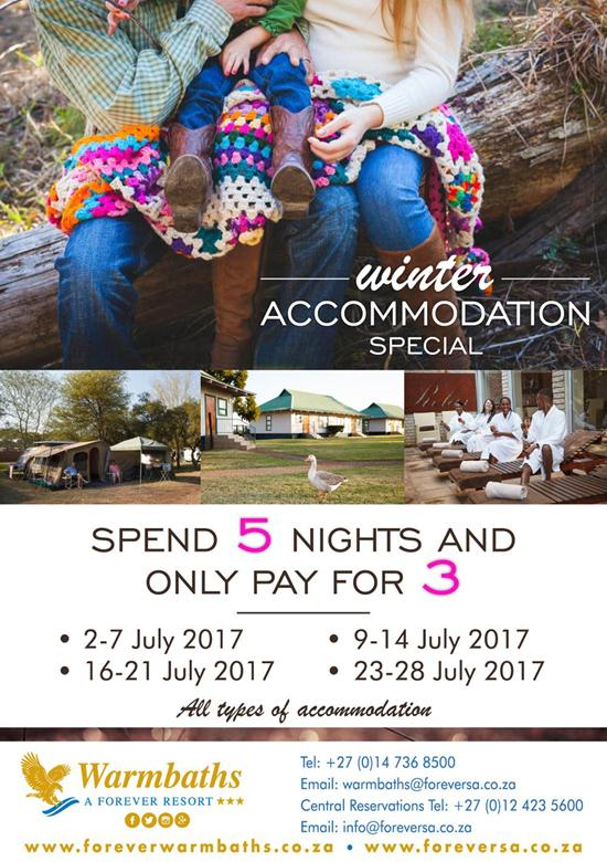 Winter Accommodation Special